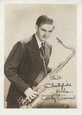 CORKY CORCORAN-ORIGINAL AUTOGRAPHED PHOTO