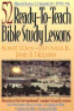 Broadman Comments, 1995-96: 52 Ready-to-Teach Bible Study Lessons, Fowler, J. B.