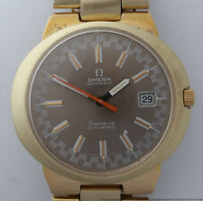 Scarce Huge Omega Dynamic Mens Vintage Watch Original 1974 Bracelet