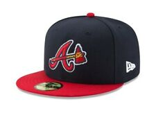 Atlanta Braves New Era Alternate Authentic On-Field 59FIFTY Fitted Hat