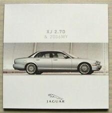 JAGUAR XJ 2.7D & 2006MY Car Press Media Pack CD 2006