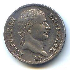 NAPOLEON Ier 1 FRANC ARGENT 1812 W LILLE QUALITE !!!!!!