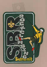 USA BOY SCOUTS OF AMERICA - BSA SUMMIT BECHTEL RESERVE ROCK CLIMBING SCOUT PATCH