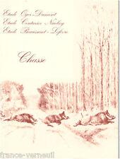 Catalogue de vente La Chasse Dessin tableau Trophee Arme Militatria 1994