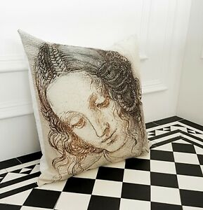 Cream Mosaic Art Abstract contemporary Occasion Bedroom Scatter Cushion