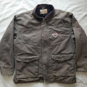"""Men's Swingster Workwear Fleece Lined Jacket Size XL """"International"""" Vintage"""