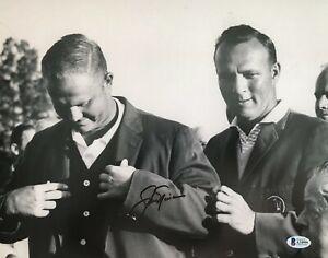 MASTERS!!! Jack Nicklaus GOLDEN BEAR Golf PGA Autographed Signed 11x14 Photo BAS