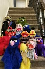 Sesame Street Puppets-vintage lot