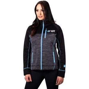 FXR Racing F20 Elevation Tech Womens Sweatshirts Fleece Ladies Zip Up Hoodies