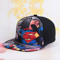 Superhero Cartoon Baseball Cap Kids Child Boys Girls Adjustable Snapback Sun Hat