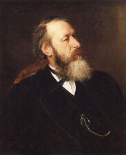 Nice Oil painting REPIN ILIYA EFIMOVICH - Portrait Old man Stasov seated canvas