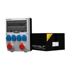 Stromverteiler TD-S/FI 2x16A 4x230 Wandverteiler Baustromverteiler 6565