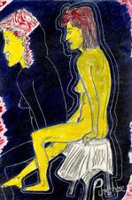 Künstlerische Malereien mit Akt- & Erotik-Motiv