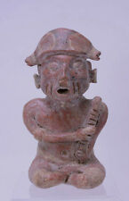 Large Fine Pre-Columbian Pottery Figure
