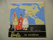 1965 Barbie Viewmaster Booklet ON A WORLD TRIP Op Wereldreis in Dutch & Flemish