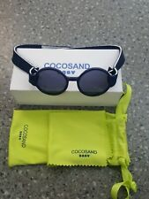 COCOSAND Baby Sunglasses with Strap and Case, Blue 0+ Months Glasses New