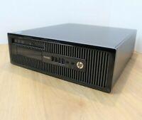 HP ProDesk 400 G1 Windows 10 Desktop Intel Core i3 4th Gen 3.4GHz 4GB 1TB WiFi