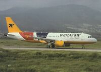 Dutchbird , Airbus A320  ,Ansichtskarte, ungel.