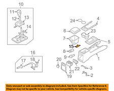 KIA OEM 03-09 Sorento Console Panel-Park Brake Cover 846123E000FC