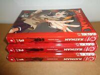 Ratman Vol. 1 2 3 by Inui Sekihiko Tokyopop Manga Graphic Novel Book Lot English