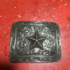 CLINT ORMS silver buckle From Japan Used