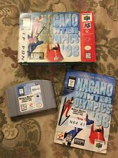 Nagano Winter Olympics '98 (Nintendo 64, 1998) Complete In Box Tested !!