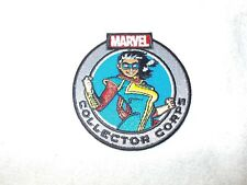 Fabric Iron On Patch Marvel Collectors Corps Miss Ms Marvel