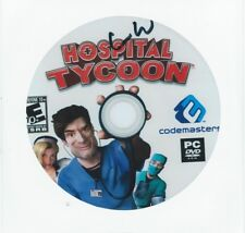 Hospital Tycoon Computer Video Game CD