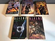 Lot of 5 Gini Koch Alien Steve Perry Aliens Paperback Books Sci Fi Fantasy Daw