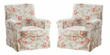 TWO Ikea Ektorp Jennylund Chair Covers Armchair SLIPCOVERS Byvik Multicolor NEW