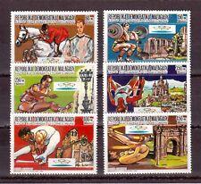 MALAGASY REPUBLIC 1987 SET MINT NH # 807/12, SUMMER OLYMPICS 1992 BARCELONA !!