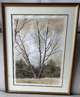 Michael Budden Lithograph Spring Time Signed Artist Proof