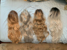 Lot of 4 Beautiful front wig synthetic