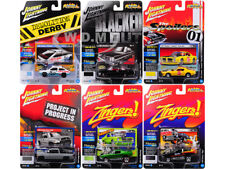 STREET FREAKS 2017 RELEASE 4A SET OF 6 CARS 1/64 BY JOHNNY LIGHTNING JLSF006-A