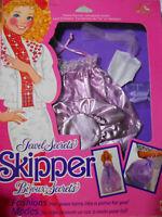 Barbie SKIPPER JEWEL SECRETS FASHIONS 1863  1986