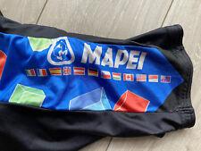 Vintage 1990s Mapei Sportful Team cycling bib shorts Eroica