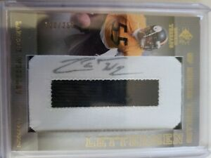 LaMARR WOODLEY 2007 SP Rookie Threads RPA #'d /250 Pittsburgh STEELERS