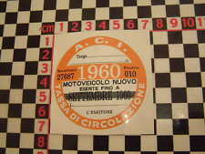 ITALIANO BOLLO 1960-FIAT 500 600 126 LANCIA BETA GIULIETTA ALFA GTV ABARTH