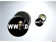 What Would PREDATOR Do alien horror Button & Magnet Set