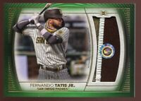 2021 Topps Definitive Fernando Tatis Jr Authentic Game Used Patch 15/15 Padres