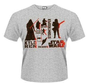 Star Wars - The Force Awakens - Red Villains Character T-Shirt Unisex Taille L