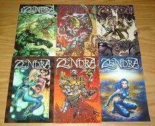Zendra #1-6 VF/NM complete series - penny-farthing bad girl comics 2 3 4 5 set