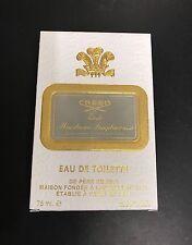 Creed Zeste Mandarine Pamplemousse 2.5oz/ 75ml Eau de Toilette. New in Box. Rare