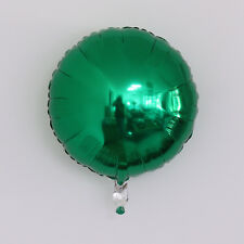"18"" Green ROUND Fashion HELIUM FOIL BALLOON BIRTHDAY WEDDING PARTY ITEM Deco"