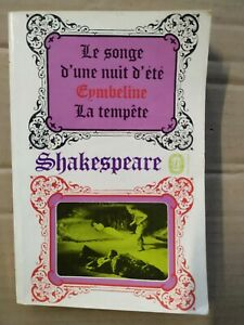 William Shakespeare - Le Songe d'une nuit d'été / Le Livre de Poche, 1971