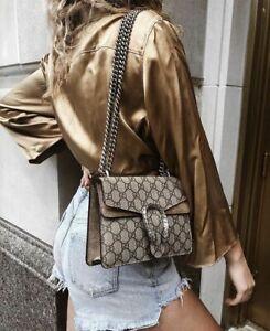 Gucci  403348 Dionysus GG Supreme Shoulder Bag  Medium