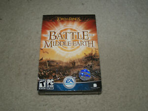 Lord of the Rings: The Battle for Middle-earth (PC: Windows, 2004) sealed