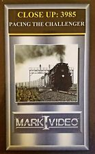 Mark I Video - CLOSEUP: 3985 - Union Pacific 3985 + PACING THE CHALLENGER - DVD