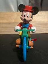 New listing Vintage illco Disney Mickey Mouse Tricycle Musical Wind-Up Pre-School Toy
