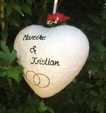 Pinata Herz Geburtstag Pullpinata Herz Heiratsantrag Hochzeit Geldgeschenk Box